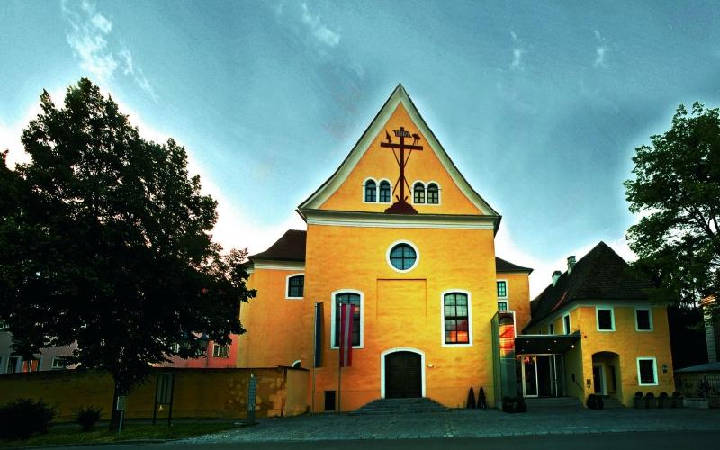 Kloster Und Außenansicht groß
